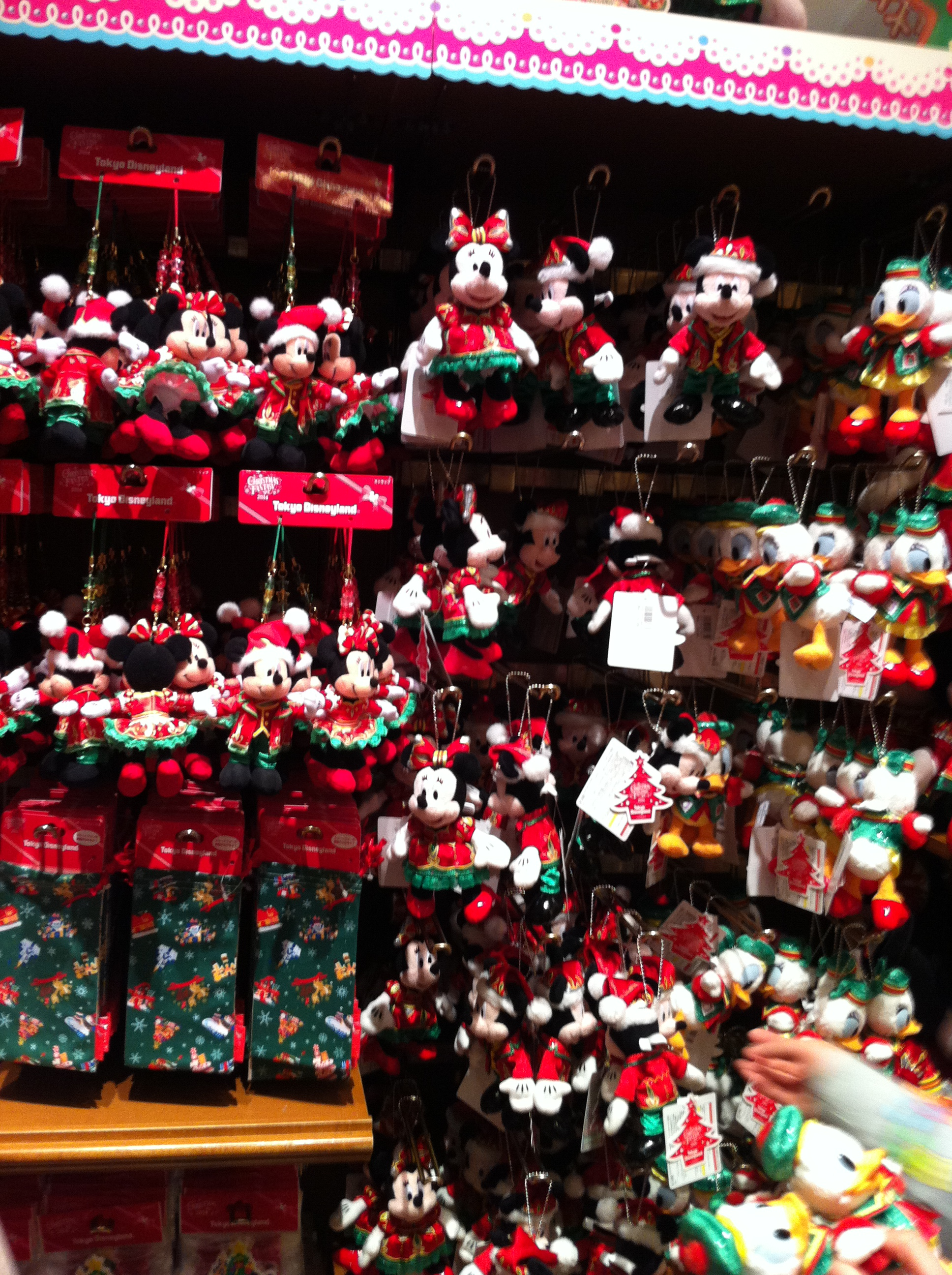 christmas pooh with a santa hat and matching jumper photo 1 5 mickey mouse minnie - Mickey And Minnie Mouse Christmas Decorations